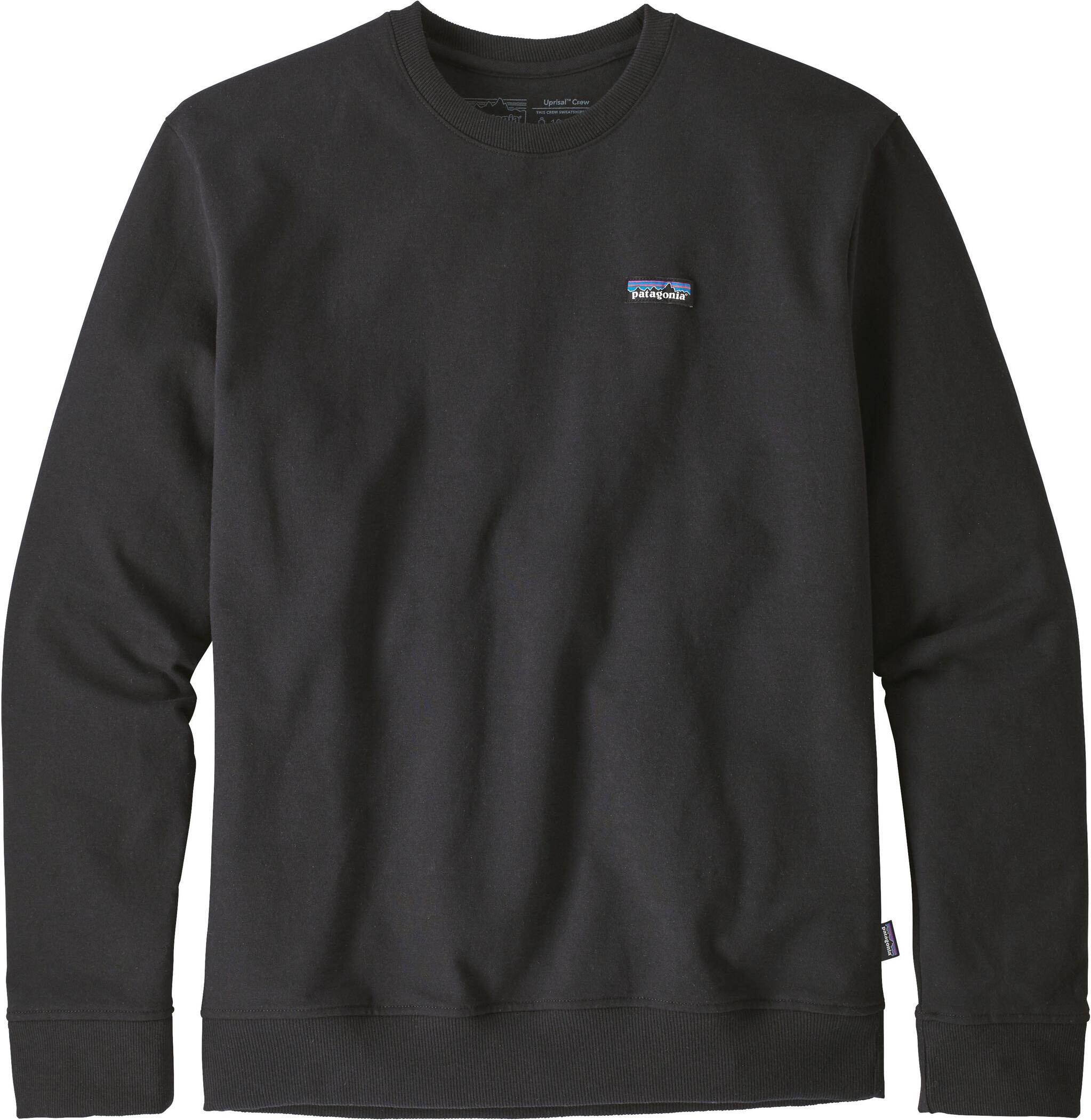 Patagonia P 6 Label Uprisal Crew Sweatshirt Herr black