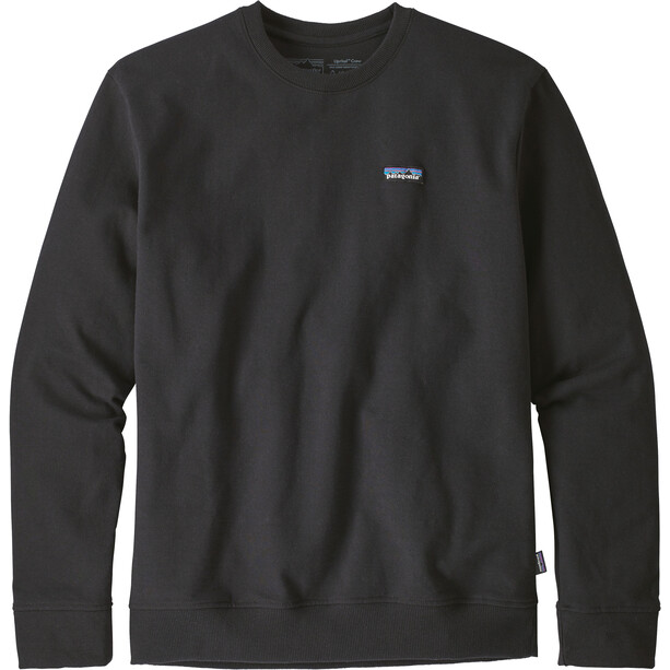 Patagonia P-6 Label Uprisal Crew Sweatshirt Herr black