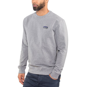 Patagonia P-6 Label Uprisal Crew Sweatshirt Herren gravel heather gravel heather