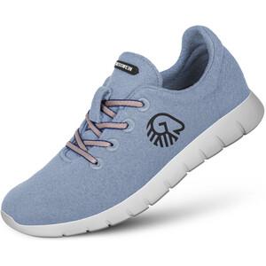 Giesswein Merino Wool Chaussures de running Femme, bleu bleu