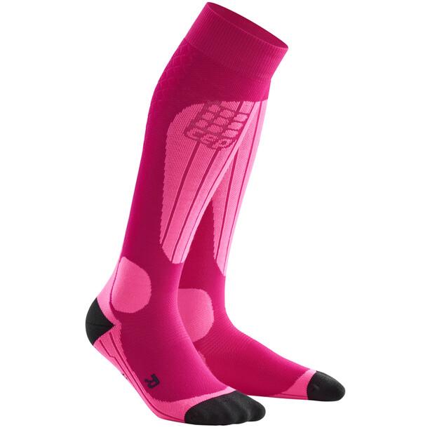 cep Ski Thermo Socken Damen pink