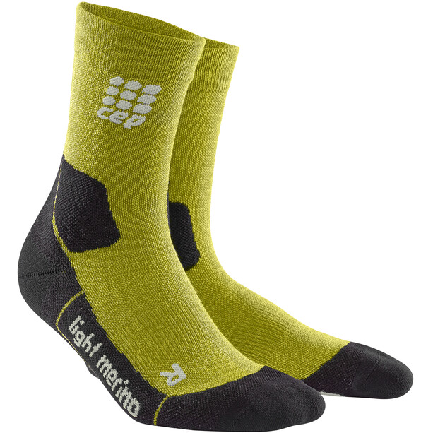 cep Dynamic+ Outdoor Light Merino Mid-Cut Socken Herren fresh grass
