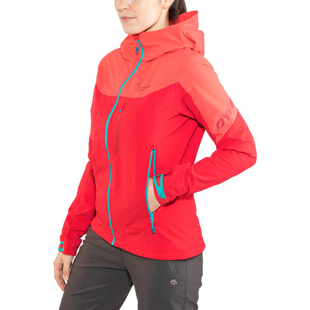 Dynafit Mercury 2 Dynastretch Jacket Dam crimson