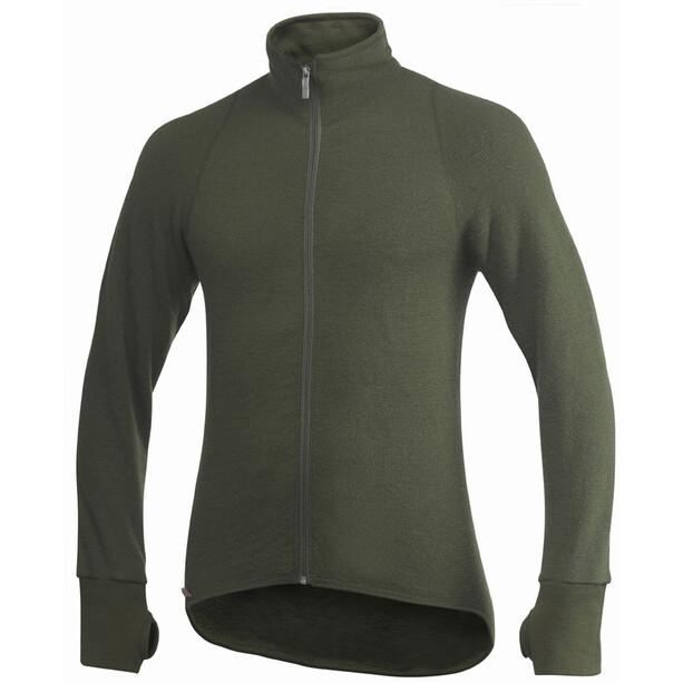 Woolpower 600 Full Zip Thermo Jacket pine green