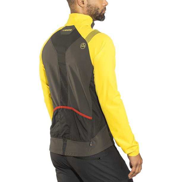 La Sportiva Levante Jacket Herr black/yellow