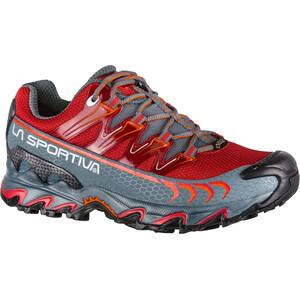 La Sportiva Ultra Raptor GTX Chaussures de trail Femme, gris/rouge gris/rouge