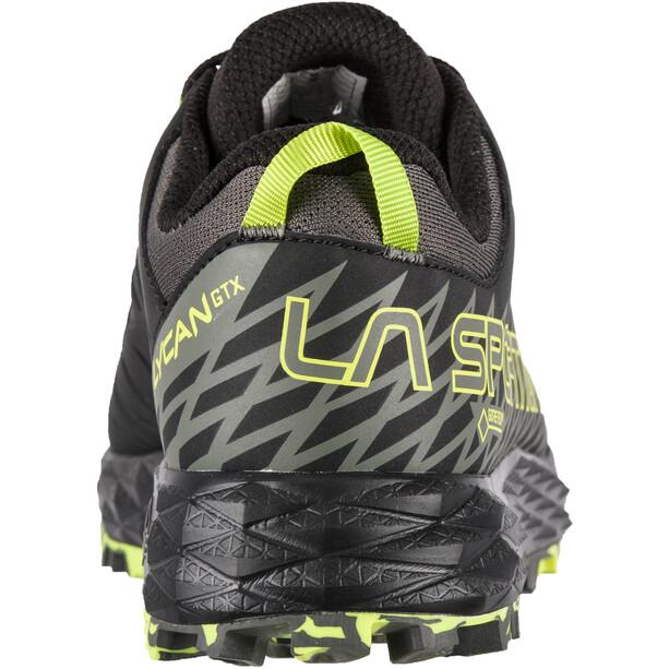 La Sportiva Lycan GTX Laufschuhe Herren carbon/apple green