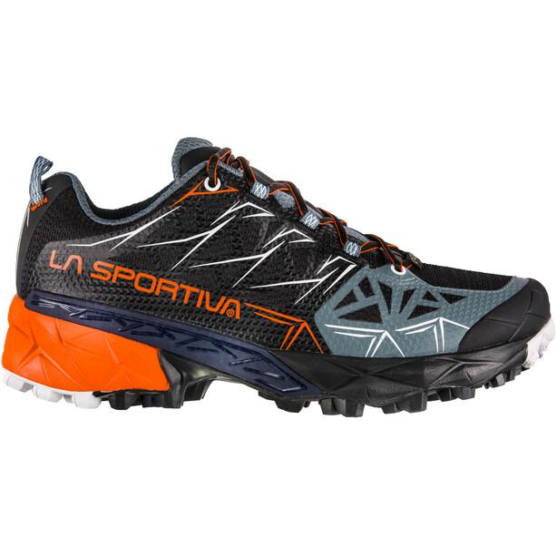 La Sportiva Akyra GTX Running Shoes Dam black/pumpkin