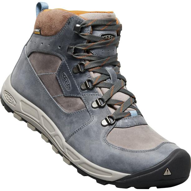 Keen Westward Leather WP Mid-Cut Schuhe Herren dark slate/grey flannel