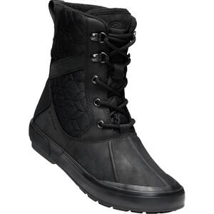 Keen Elsa II Quilted WP Schuhe Damen black/black black/black