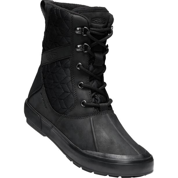 Keen Elsa II Quilted WP Schuhe Damen black/black