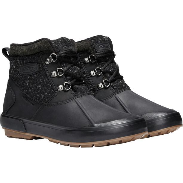 Keen Elsa II Ankle Wool WP Schuhe Damen black/raven