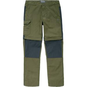 Craghoppers Kiwi Convertible Pantalon Enfant, dark moss dark moss