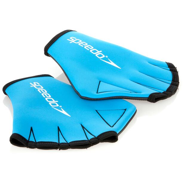 speedo Wasserhandschuhe blue