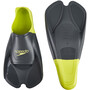 speedo Biofuse Training Flossen oxid grey/lime punch