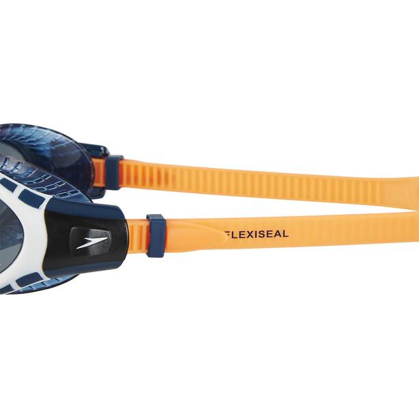 speedo Futura Biofuse Flexiseal Triathlon Svømmebriller, orange/grå