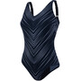 speedo Vivapool 1 Piece Swimsuit Dam black/white
