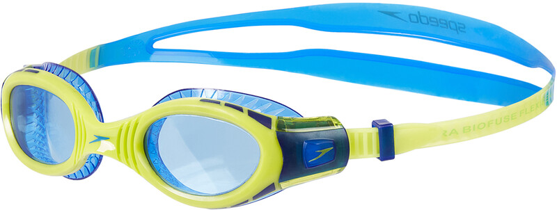 ffd32e8ebc6dc Futura Biofuse Flexiseal Goggles Kinder new surf/lime punch/bondi blue 2019  Schwimmbrillen