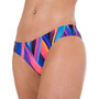 speedo Fizzbounce 2 Piece Crossback Bikini Dam violet/limepunch/turquoise