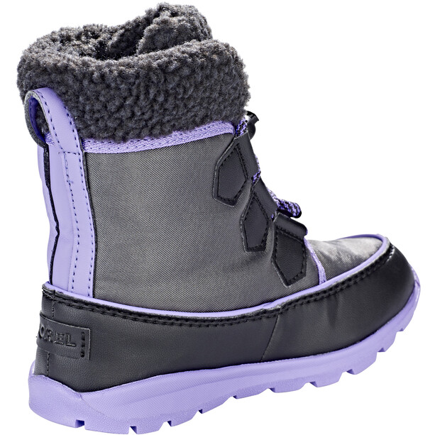 Sorel Whitney Carnival Stiefel Kinder dark grey/paisley purple