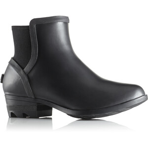 Sorel Janey Chelsea Boots Damen black/sea salt black/sea salt