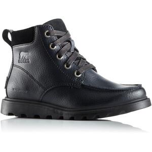 Sorel Madson Moc Toe Waterproof Chaussures Enfant, noir noir