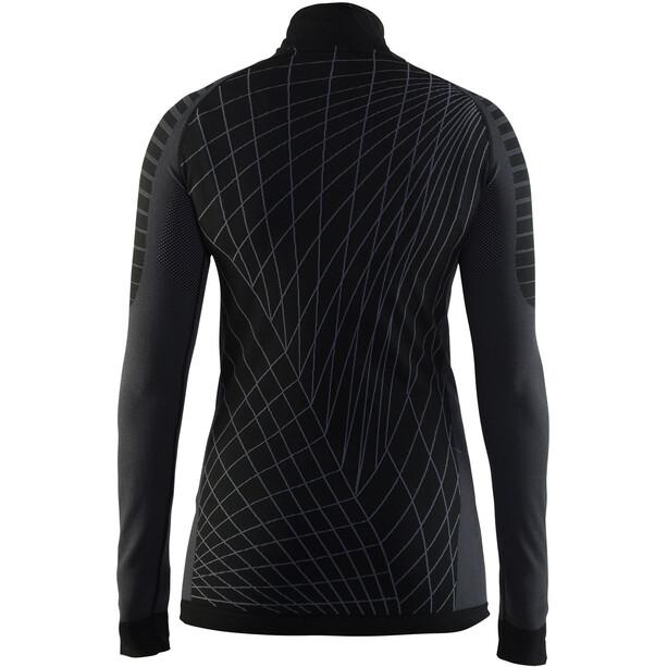Craft Active Intensity Zip Damen black/granite