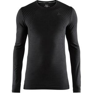 Craft Fuseknit Comfort Rundhals Langarmshirt Herren black black
