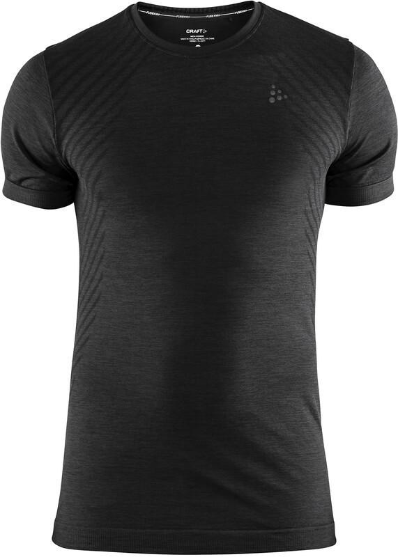 Craft Fuseknit Comfort Round-Neck SS Shirt Men black XXL 2018 Accessoires