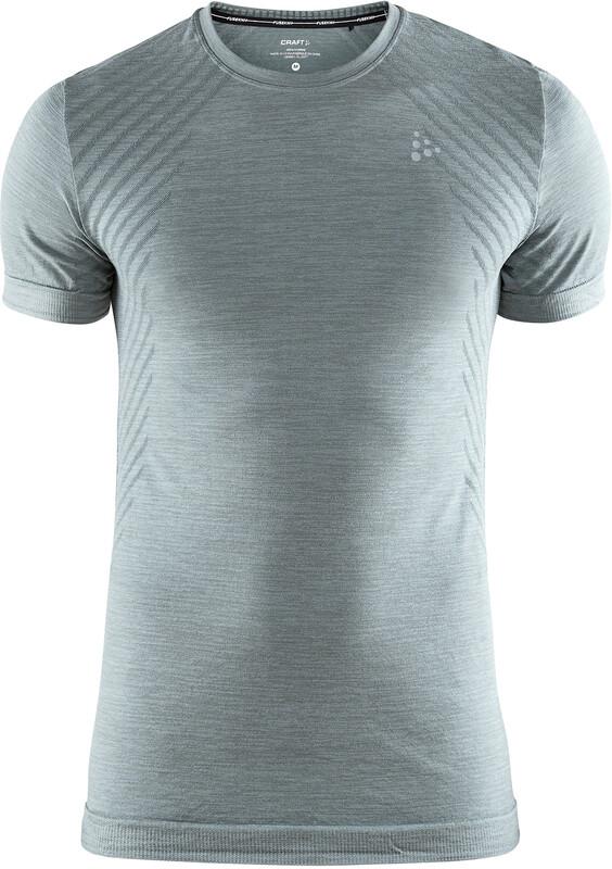Craft Fuseknit Comfort Round-Neck SS Shirt Men trooper melange XL 2018 Accessoires