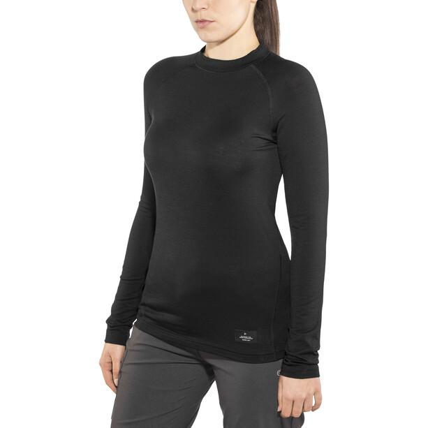 Craft Merino Lightweight Rundhals Langarm Damen black