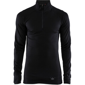 Craft Merino Lightweight Zip Herren black black