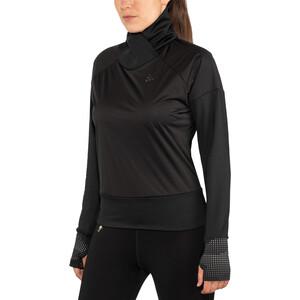 Craft Nordic Light Langarm Trikot Damen black black