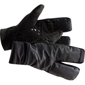 Craft Siberian 2.0 Split Finger Handschuhe schwarz schwarz