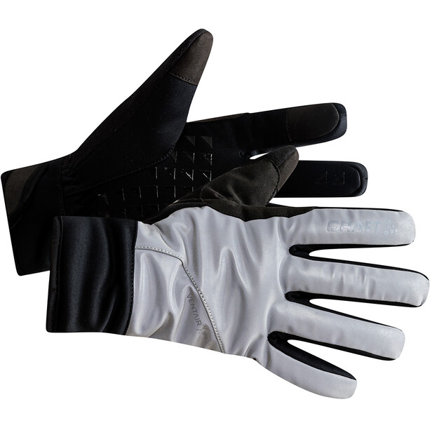 Craft Siberian Glow Handschuhe silver/black
