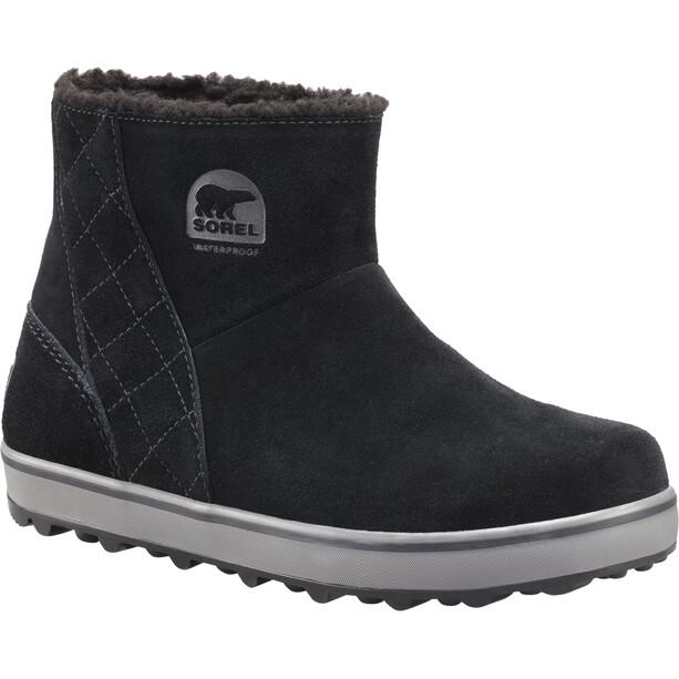 Sorel Glacy Short Boots Dam black/shark