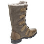 Sorel Emelie Lace Boots Dam brun/svart