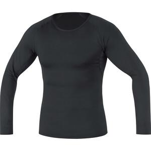 GORE WEAR Base Layer Thermo Langarmshirt Herren schwarz schwarz