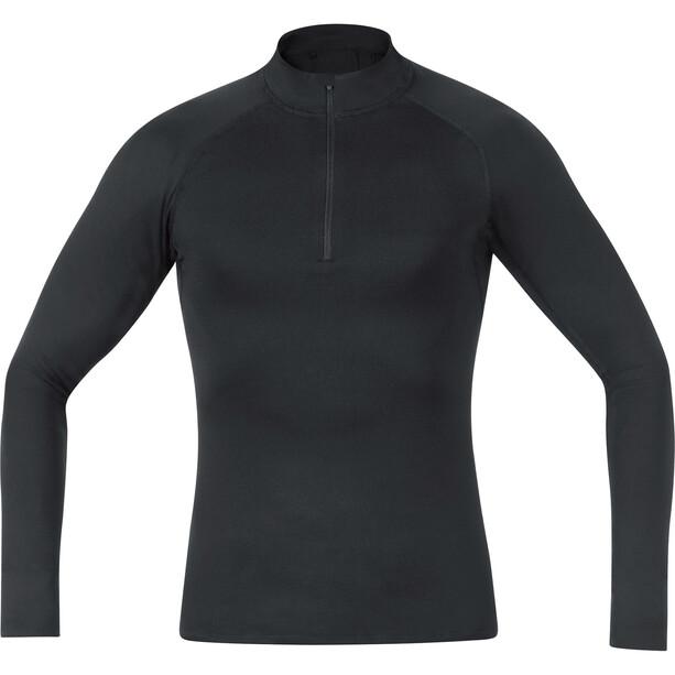 GORE WEAR Base Layer Thermo Rollkragenshirt Herren black