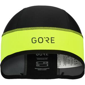 GORE WEAR C3 Windstopper Helmmütze gelb/schwarz gelb/schwarz