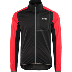 GORE WEAR C3 Gore Windstopper Jacket Herr black/red black/red