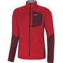 GORE WEAR C5 Windstopper Isolierende Jacke Herren red/chestnut red
