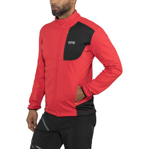 GORE WEAR C5 Gore Windstopper Thermo Trail Jacket Herre red/black red/black