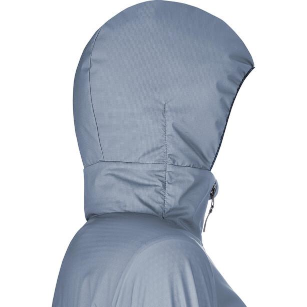 GORE WEAR H5 Windstopper Isolierende Kapuzenjacke Damen blau