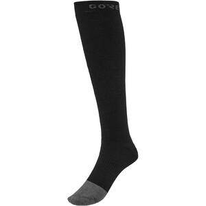 GORE WEAR Thermo Lange Socken schwarz schwarz