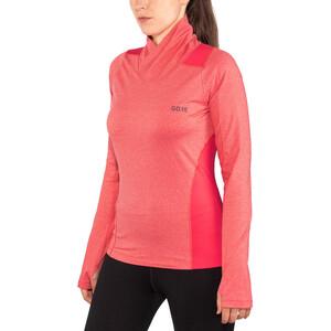 GORE WEAR R3 Thermo Langarmshirt Damen hibiscus pink hibiscus pink