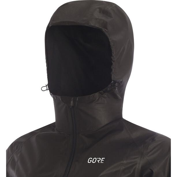GORE WEAR R7 Gore-Tex Shakedry Hooded Jacket Dam black