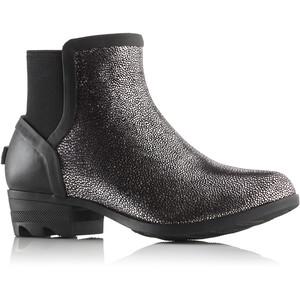 Sorel Janey Chelsea Boots Dam black/pure silver black/pure silver