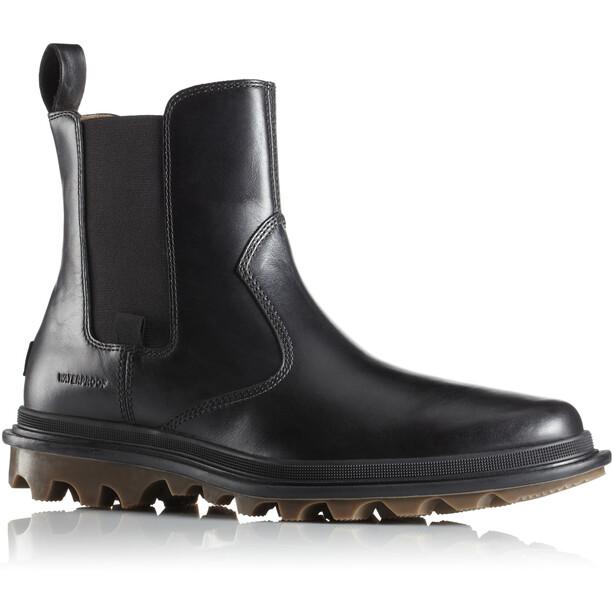Sorel Ace Chelsea Waterproof Shoes Herr black/black