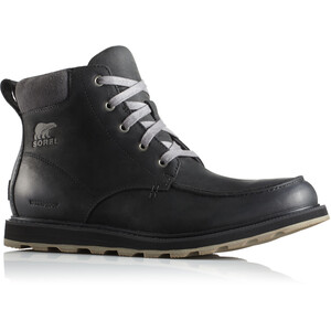 Sorel Madson Moc Toe Waterproof Shoes Herr black/dark grey black/dark grey